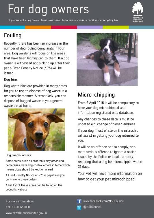 Dog-leaflet